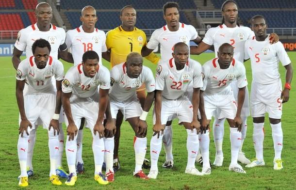 Burkina Faso's national football team pl
