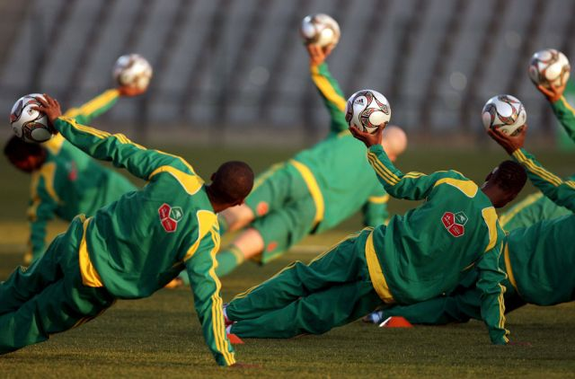South Africa - Training