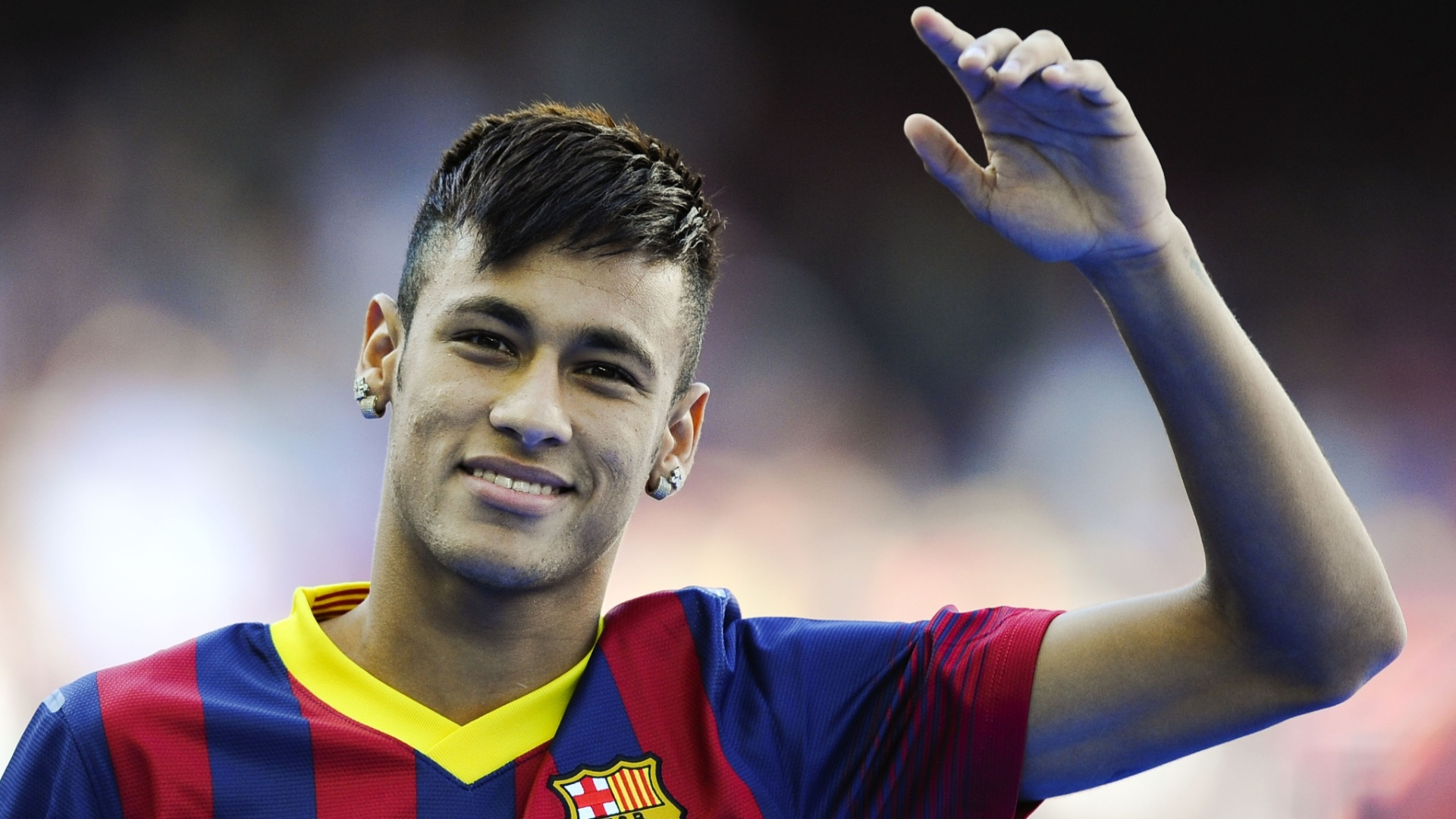 187 neymar a crazy gesture yesterday with barcelona � video