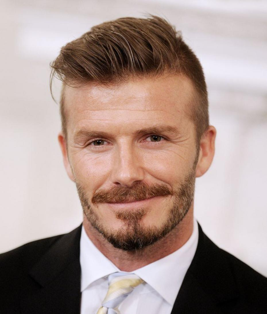 David Beckham Sir Alex Ferguson Gave Me The Chance To Live My - Beckham hairstyle ferguson