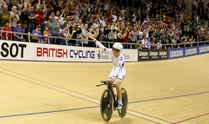 Cycling - UCI Track Cycling World Cup - Day Three -  Emirates Arena
