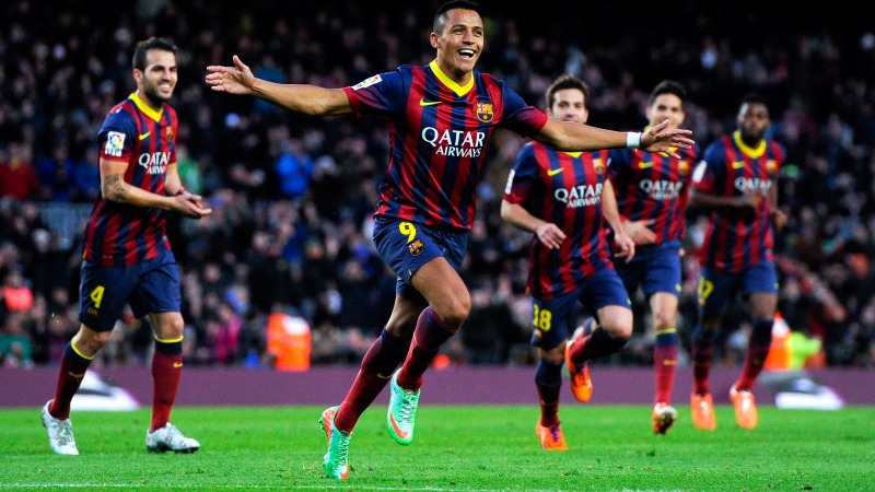 at Camp Nou on January 5, 2014 in Barcelona, Spain.