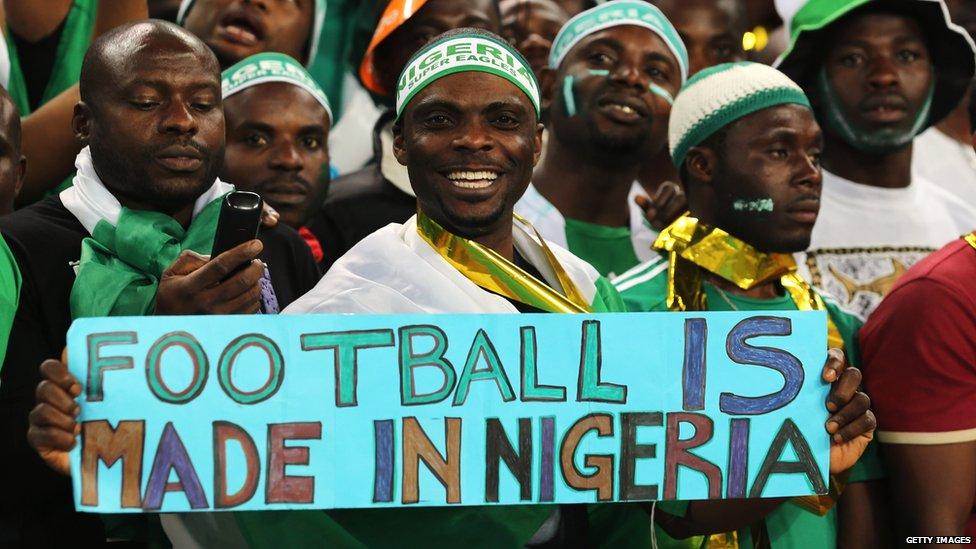 football fans nigeria