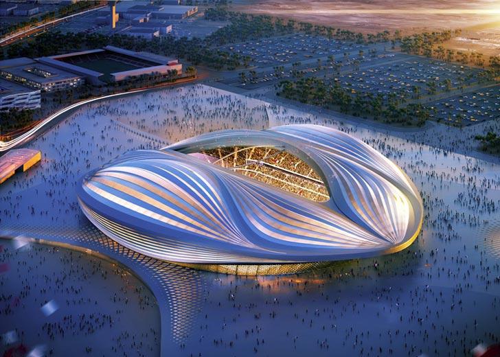Qatar-2022-World-Cup-Stadium-by-Zaha-Hadid-Al-Wakrah