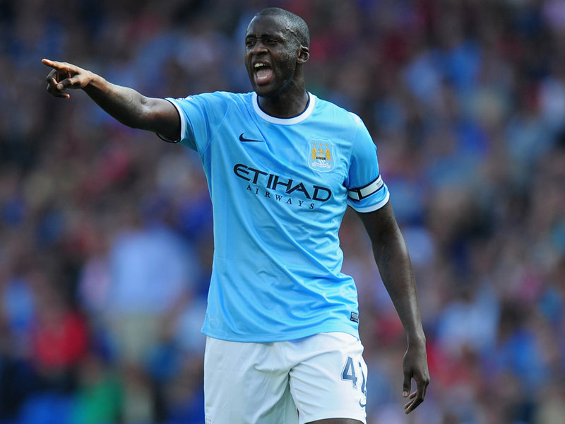 Yaya Toure Manchester City 1024 3024250 Manchester City: Yaya Toure has a notebook to decode the mysteries of each match