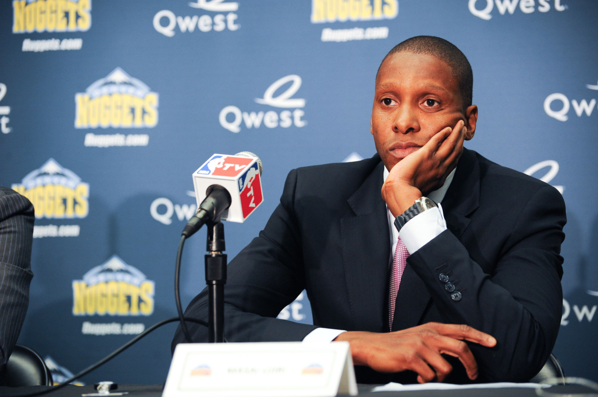 Denver Nuggets Masai Ujiri Introduced As New Exec VP of Ops