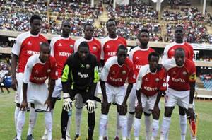 L'équipe nationale du Kenya