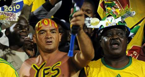 Bafana-Supporters-Cheerful-090211-G-468
