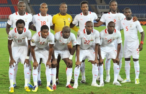 Burkina Faso's national football team pl