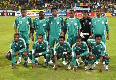 fifa ranking Nigeria