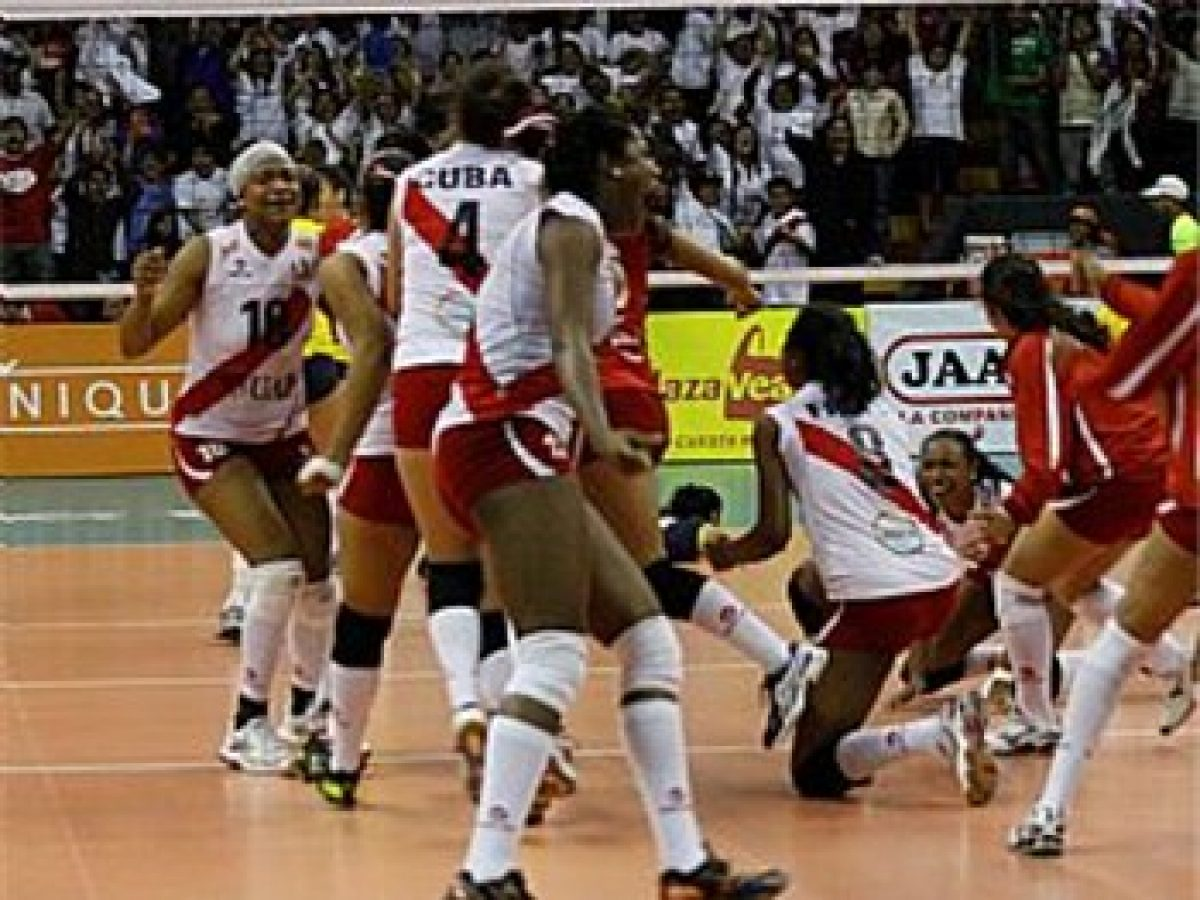 Volleyball Peru President Welcomes National Youth Squad Africa Top Sports