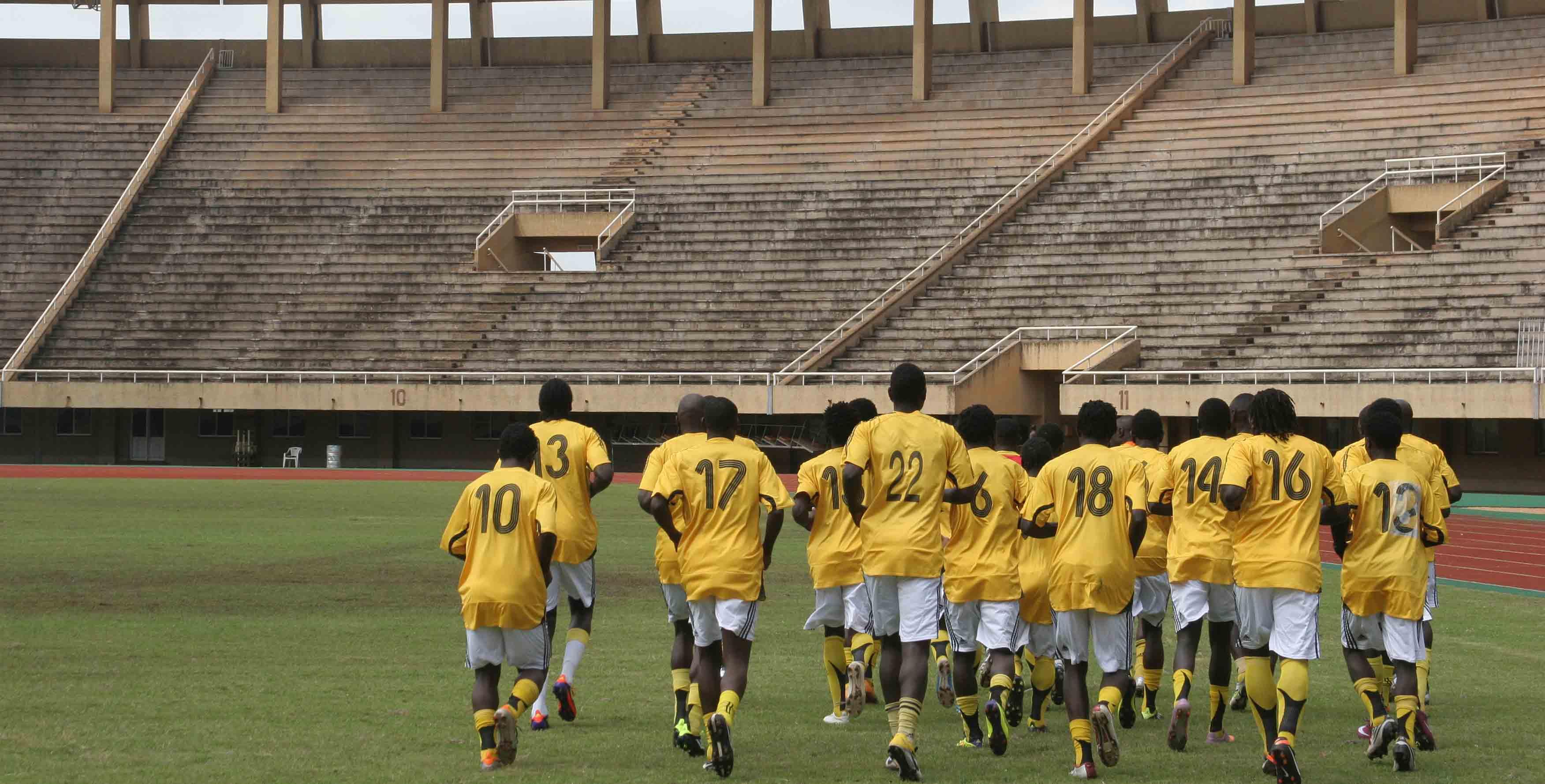 uganda-cranes-practising