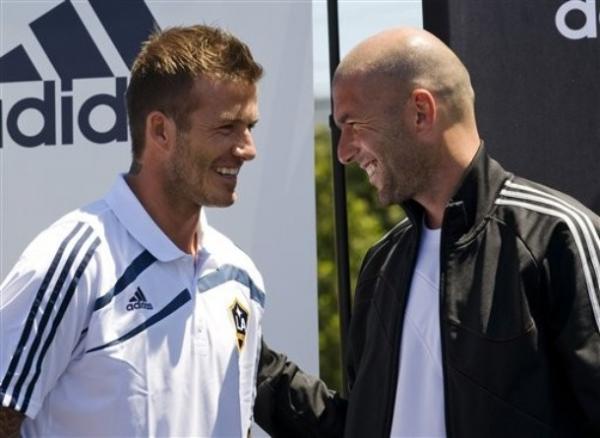 Zidane, Beckham