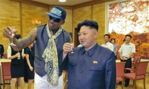 Dennis Rodman and Kim Jong-un