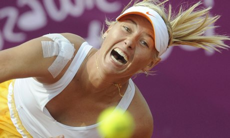 Maria Sharapova withdrew from the US Open with a shoulder injury that is still troubling her.