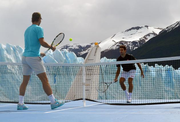 nadal-and-djokovic-play-tennis-perito-moreno-glacier-2013