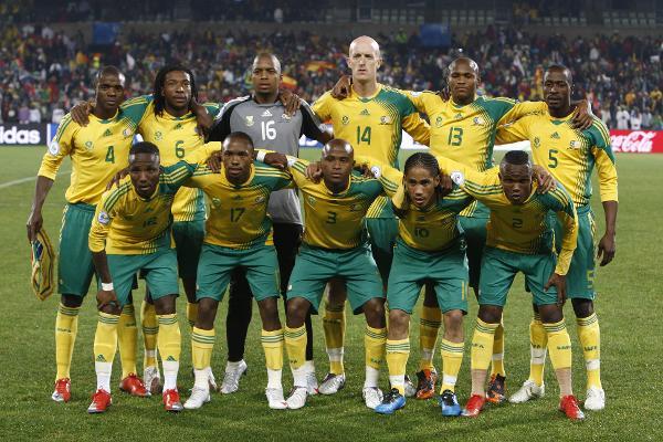 Nationalmannschaft Südafrika - Mannschaftsfoto