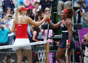 Maria Sharapova American Serena Williams seen tZXrpElVT4gl