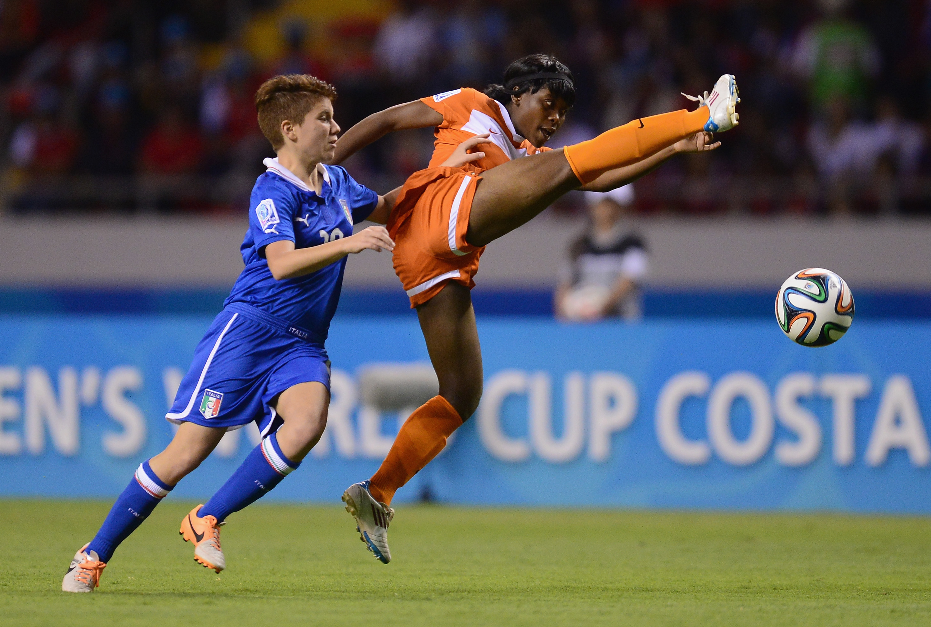 Italy v Zambia: Group A - FIFA U-17 Women's World Cup Costa Rica 2014
