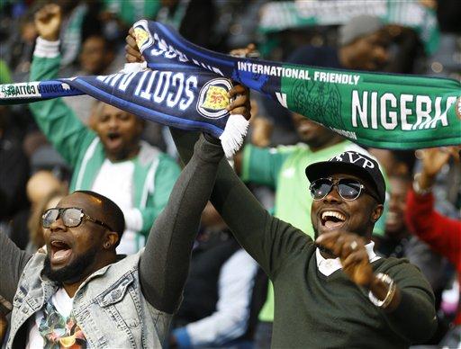 Britain Nigeria Scotland WCup Soccer