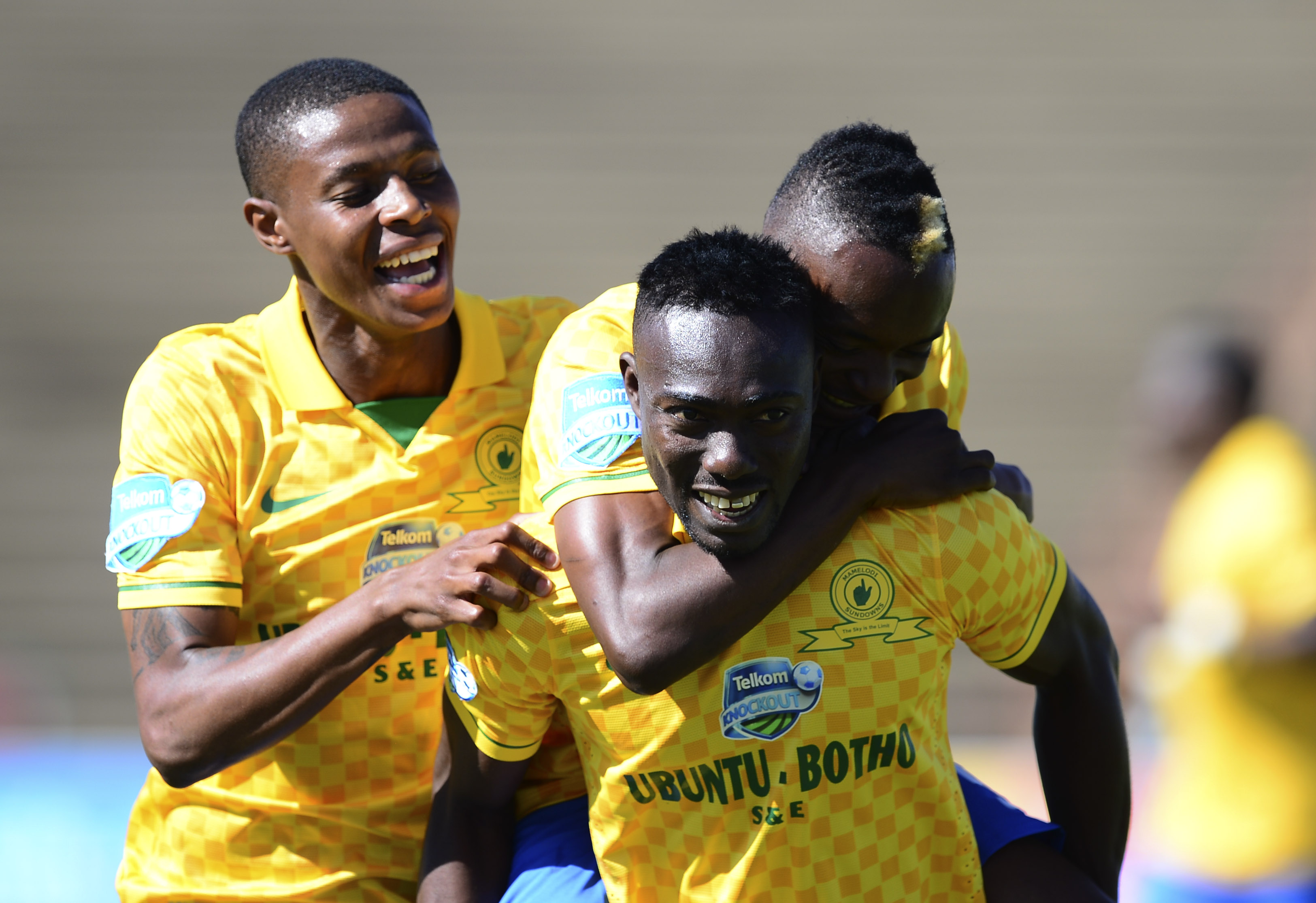 Football - 2013 Telkom Knockout - Bloemfontein Celtic v Mamelodi Sundowns - Kaizer Sebothelo Stadium