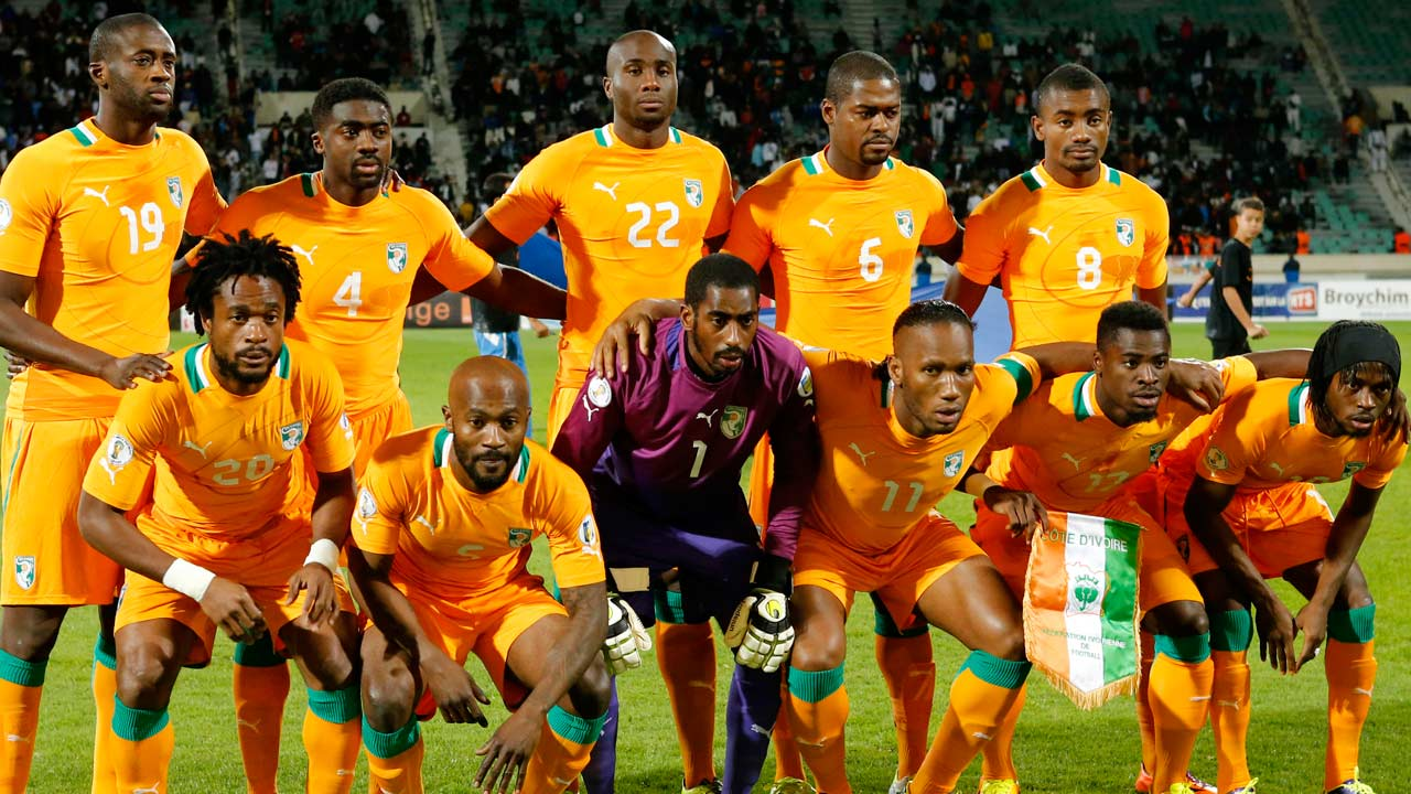 Ivory Coast World Cup team