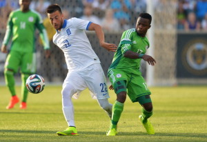 Greece v Nigeria