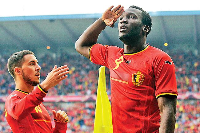 Romelu Lukaku, Eden Hazard