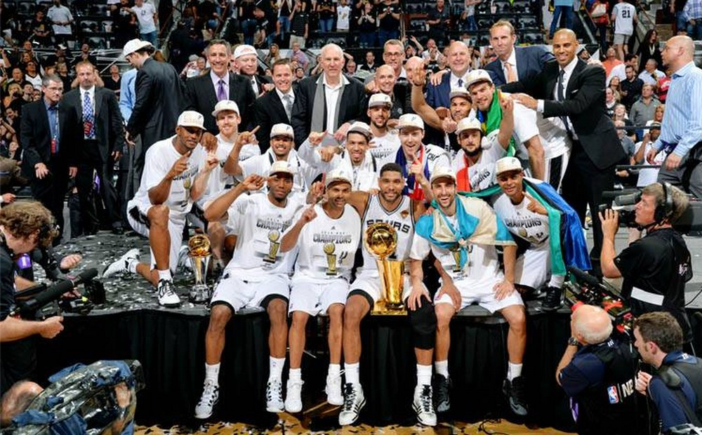 » NBA FINALS: SAN ANTONIO SPURS CHAMPIONs! –VIDEO