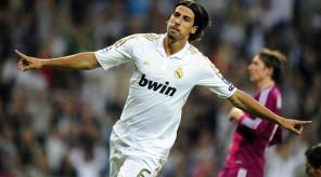 Real Madrid's German midfielder Sami Khe