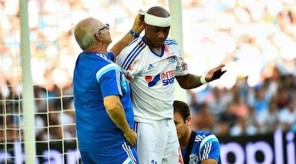 Andre AYEW - 17.08.2014 - Marseille / Montpellier - 2eme journee de Ligue 1 Photo : Fred Porcu / Icon Sport
