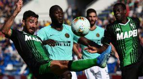 Inter Milan vs Sassuolo