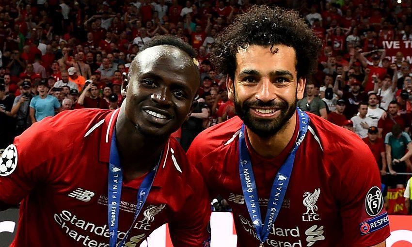 Salah and Mane