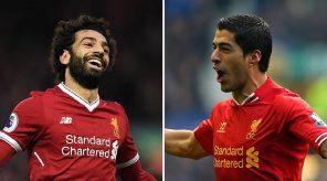 Salah and Suaréz