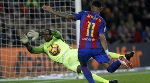 Carlos Kameni vs Neymar