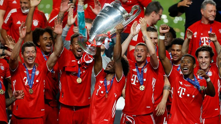 Bayern Munich Destroyed PSG s Dream Clinched Their Sixth UCL Silverware