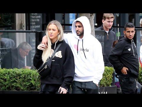 Riyad Mahrez's girlfriend Taylor Ward no longer wants to ...