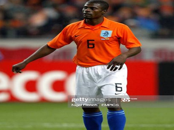 George Boateng with Netherlands' shirt. Nigel French/Gettyimages