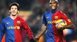 Messi and Eto'o