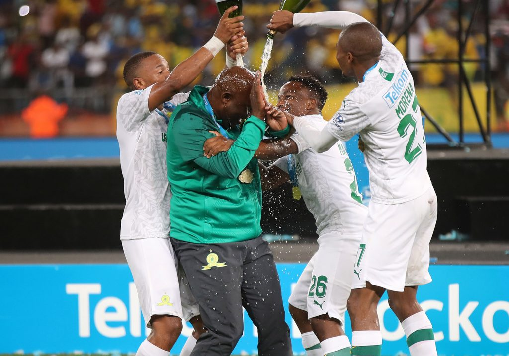 Pitso Mosimane won four times South African Coach of the year and once (2016) African Coach of the Year.
