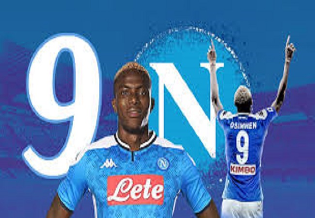 Victor Osimhen Napoli Confirms Shirt Number 9 To Start 2020 21 Season