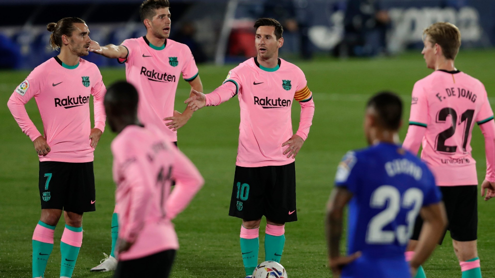 Barca have had a sad Sunday night at Coliseum Alfonso Perez against Getafe. And Ronald Koeman is expected to find solutions as quickly as possible.