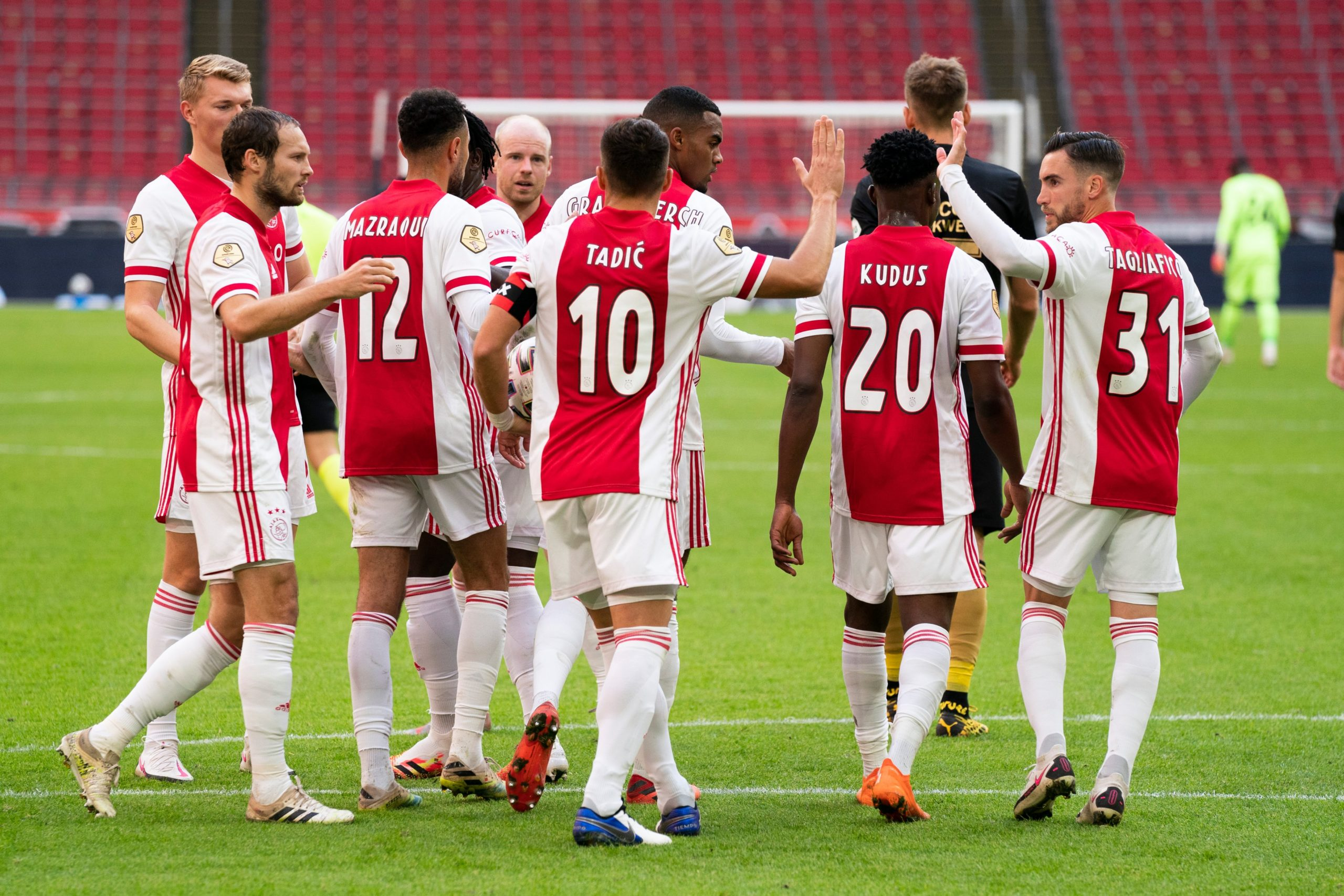 Ajax Vs Liverpool Official Line Ups Mohammed Kudus To Start