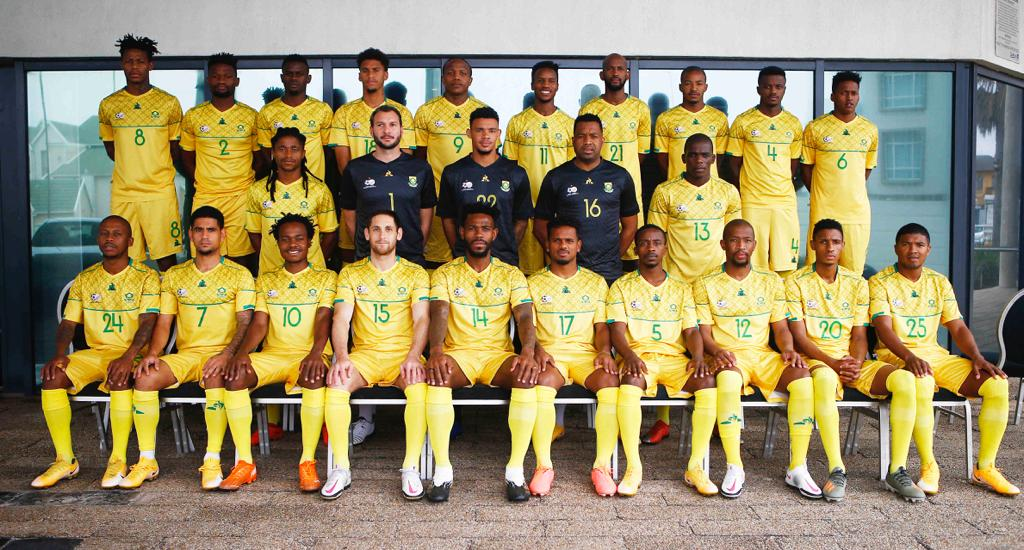 Full South Africa Squad.