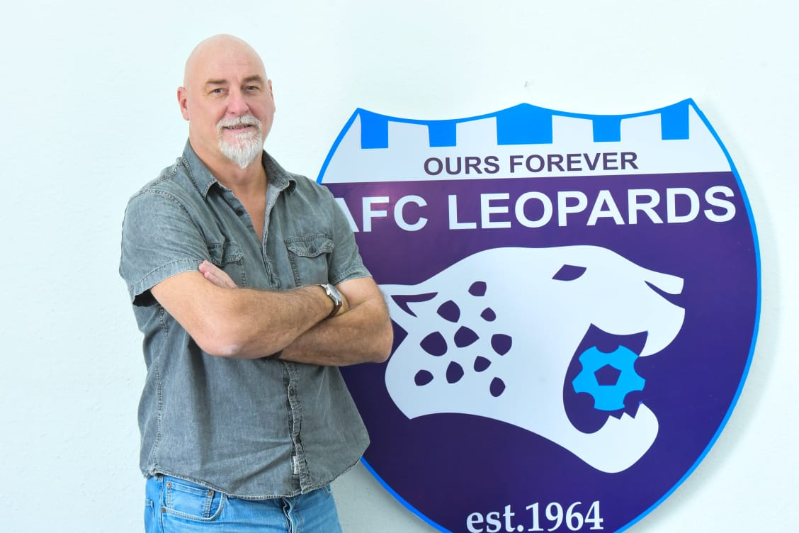 """Patrick Aussems """"happy"""" to be appointed new AFC Leopards head coach"""