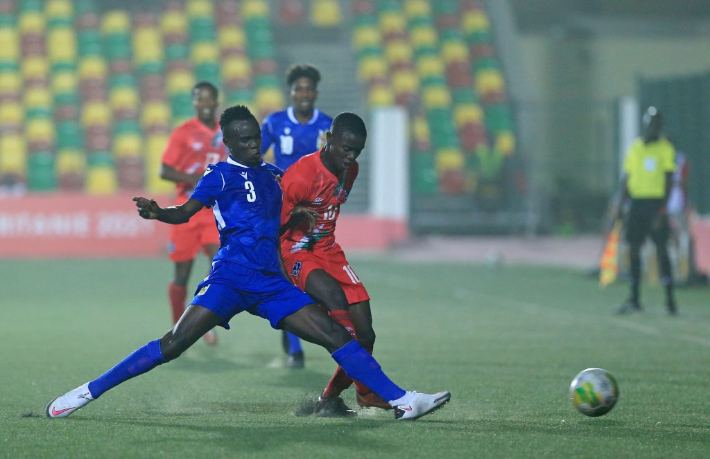 Namibia vs Central African Republic.