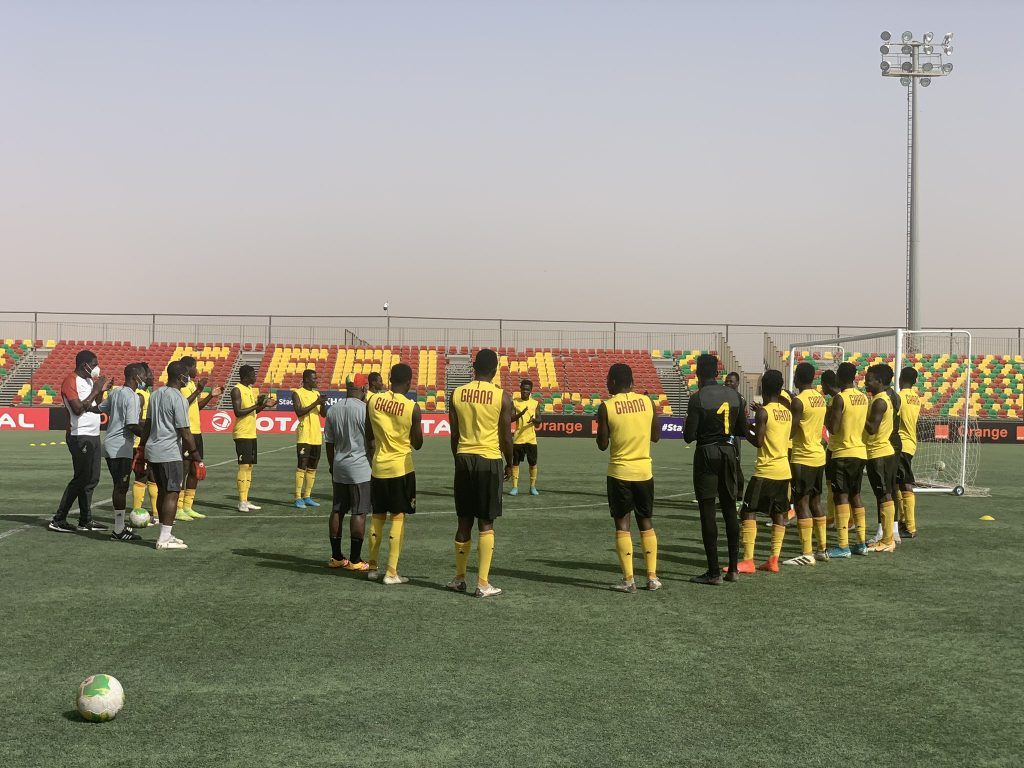 Karim Zito and his men completed their last training session on Sunday.
