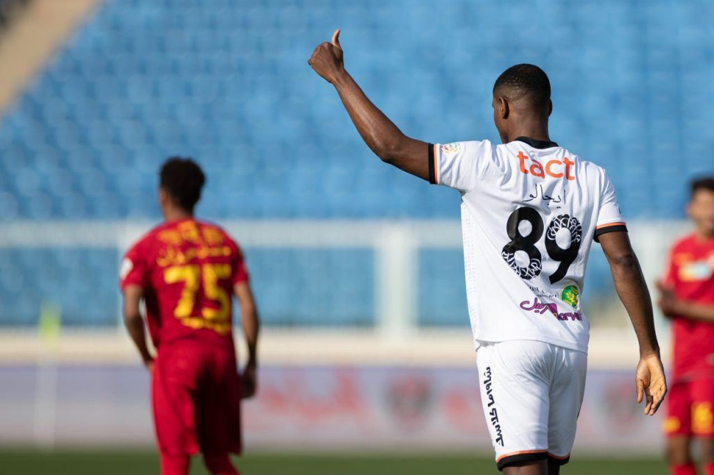 Odion Ighalo after his goal.