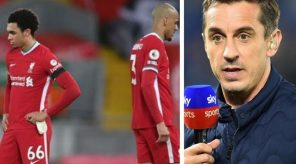 Liverpool are going to go out of the Champions league - Gary Neville