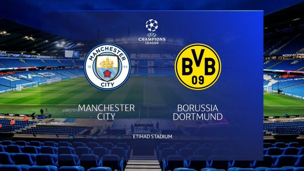 Man City vs Dortmund